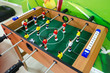 canvas print picture - Foosball