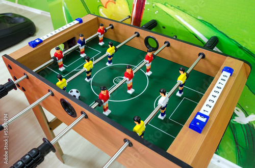 canvas print picture Foosball
