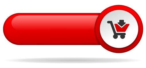 Button rot Einkauf