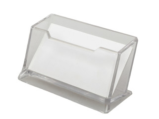 Photo of  transparent Business Card Holder