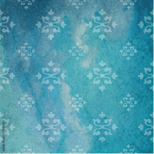 Floral texture - Background with copy space