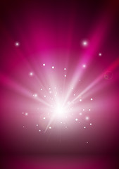 Magic Pink Background