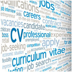 """CV"" Tag Cloud (vacancies careers jobs offers search apply now)"