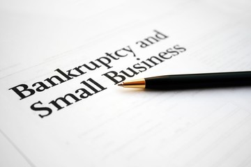 Bankruptcy and business