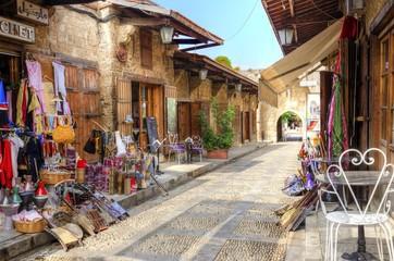 Pedestrian souk, Byblos, Lebanon