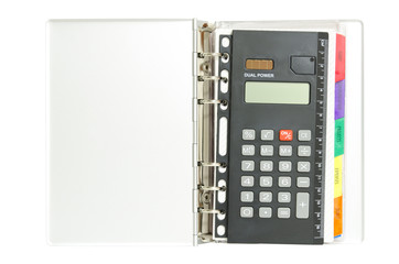 Calulator inside notebook
