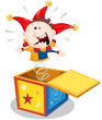 Cartoon Jack In The Box - 55860057