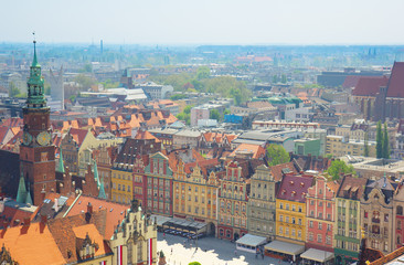 old town market square , Wroclaw