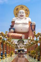 Happy Buddha statue, Koh Samui island, Thailand