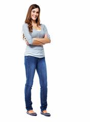 Standing woman.