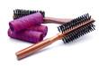 Haarbürste mit Lockenwickler