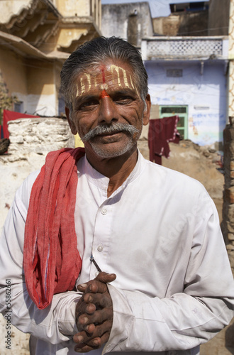 India, Rajasthan, Pushkar, indian Sadhu