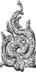 vintage decorative element