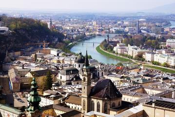historical center of Salzburg, Austria