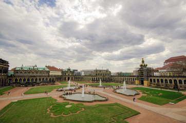 area in the city of Dresden
