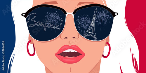 Visit Paris, learn French - 55866628