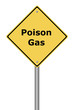 Warning Sign Poison Gas