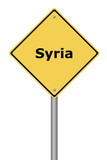 Warning Sign Syria
