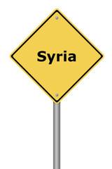 Warning Sign Syria