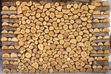 Haché Pile de bois