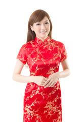 cheongsam woman