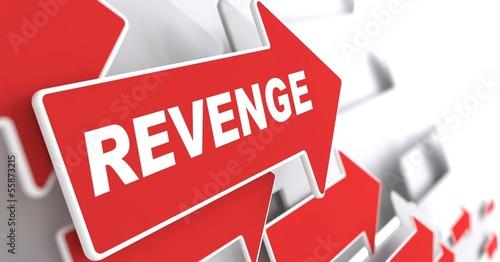 Fotobehang Stierenvechten Revenge Concept.