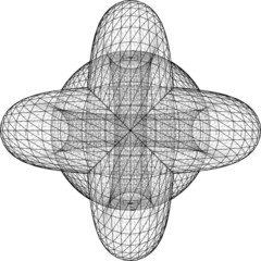 Geometric Intersection Of Two Torus And Sphere Vector