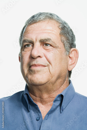 Portrait of a senior adult man