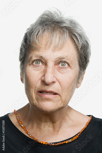 Portrait of a mature adult woman