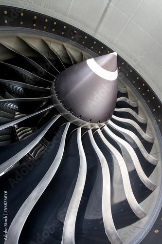 Papiers peints Avion à Moteur Jet engine close up