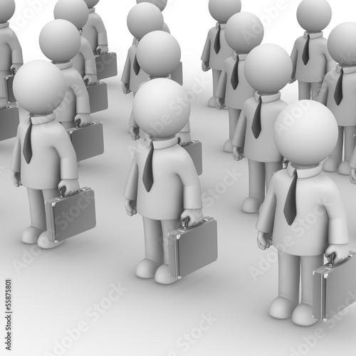 The army of bureaucrats.