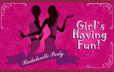 Bachelorette party girls night out.