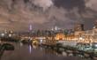 Night view of Manhattan, New York City