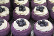 Blueberry Mousse Cake with Fruits