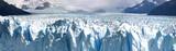 Panoramic view of the Perito Moreno Glacier in Patagania