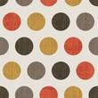 polka dots seamless pattern background