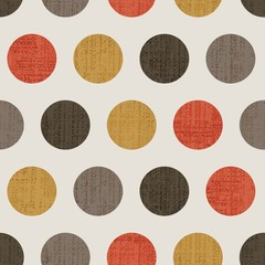 polka dots seamless pattern background