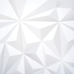 White geometric wallpaper background. © tarapong
