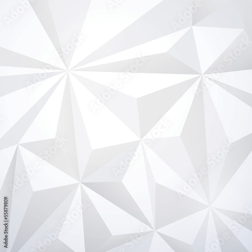 White geometric wallpaper background.