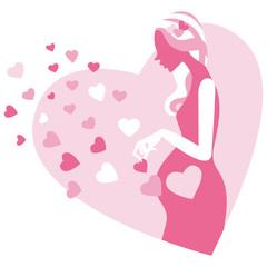 妊婦シルエット