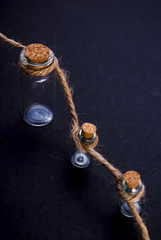 jars on the rope