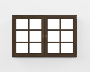 Modern Wood Window
