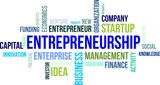 word cloud - entrepreneurship