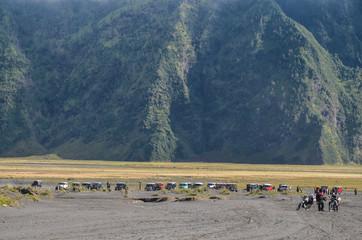 Landscape near mount Bromo, Java, Indonesia