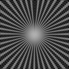 gioco di luce concentrico