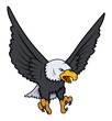 Bald Eagle vector illustration