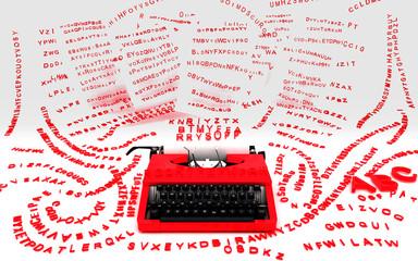 Macchina da scrivere, news, editoria, stampa, notizie