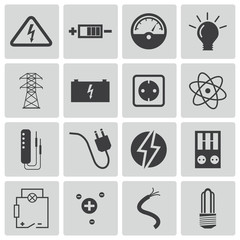electricity icon,