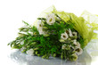 Bouquet of eustoma flowers