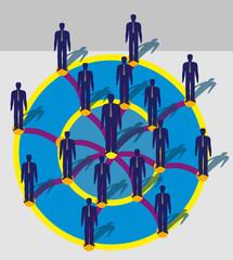 Люди в круге